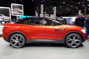 Электрический Tiguan с автопилотом: Voklswagen показали обновленный концепт электрокроссовера I.D. Crozz