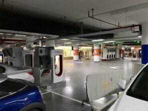 Tesla построит в Китае гигантскую зарядную станцию Supercharger