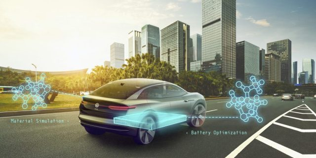 Google поможет Volkswagen в работе над аккумуляторами нового поколения
