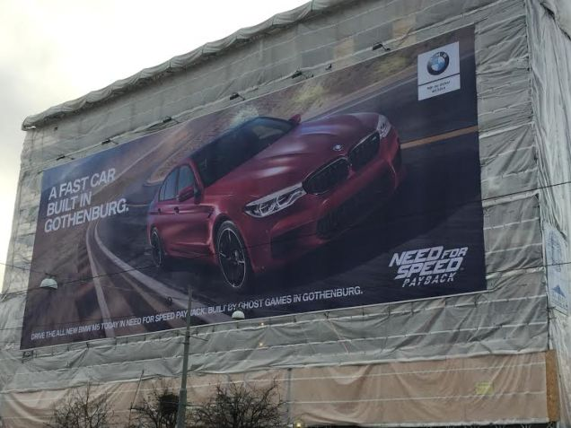 BMW потроллили Volvo в новой рекламе Need For Speed