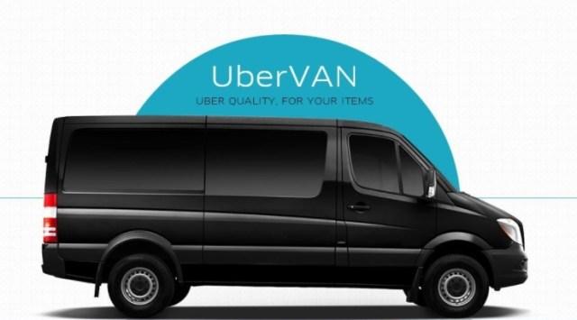 Uber выпустил микроавтобусы на киевские улицы