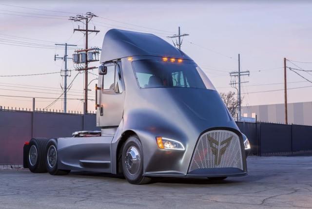 Американцы бросили вызов Tesla Semi с электрогрузовиком, который хуже по параметрам
