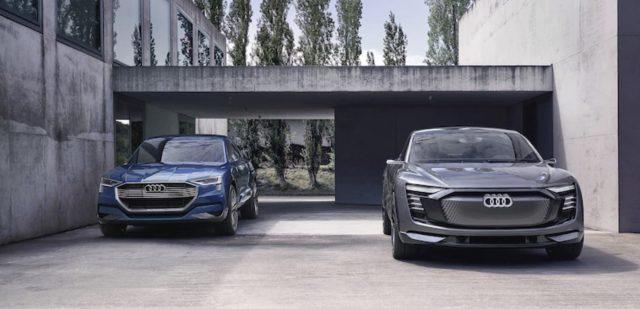 Audi начала прием предзаказов на две модели электромобилей e-tron: Quattroи Sportback
