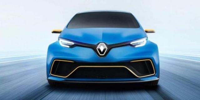 """Renault покажет в Женеве """"заряженную"""" версию электрокара Zoe"""