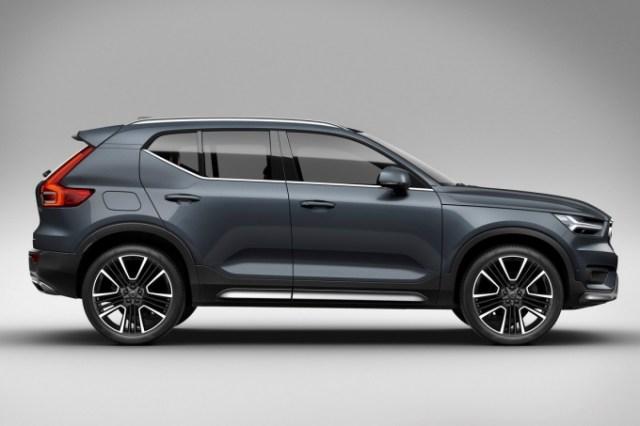 Кроссовер Volvo XC40 получит электрическую версию с запасом хода 500 км
