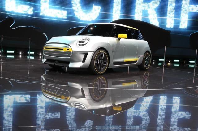 BMW будет собирать в Китае электрические Mini для местного рынка