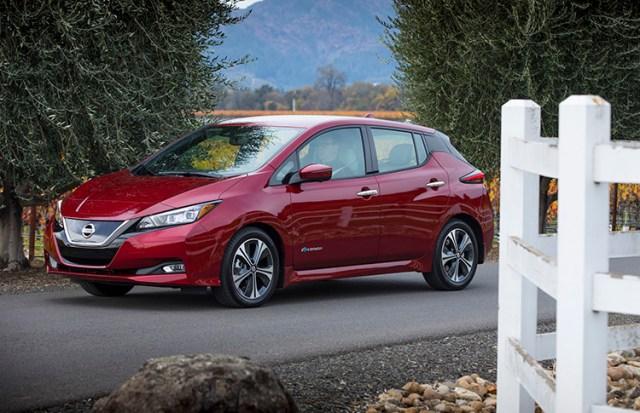 Nissan LEAF признан самым экологичным автомобилем 2018 года