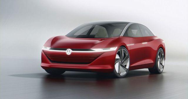 Глаз не отвести: Volkswagen представили беспилотный электромобиль с 640 км запасом хода