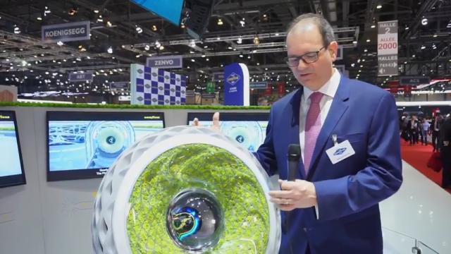 Экономит заряд батареи и очищает воздух: Goodyear представил две инновационные шины
