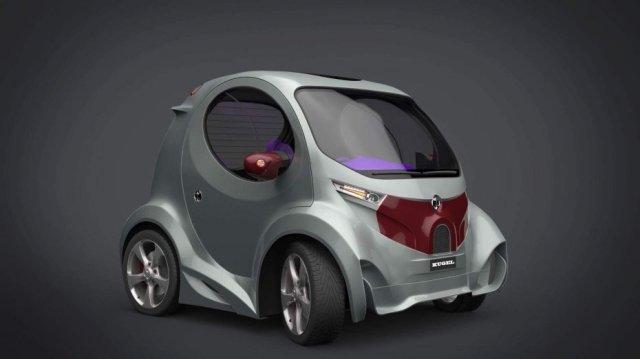 Создатель суперкара Himera показал, как будет выглядеть компактный электрокар Kugel