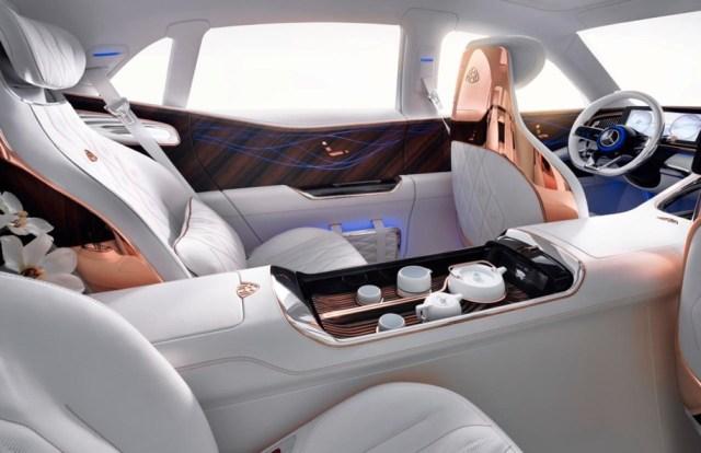 Шик, блеск, крутота! В сеть утекли фото нового электроконцепта Vision Mercedes-Maybach Ultimate Luxury