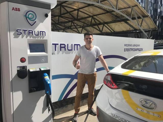 ДТЭК запустил в работу сеть электрозаправок Strum до официальной презентации