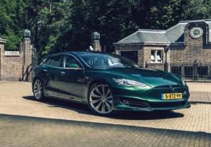 Единственный в мире: голландцы представили Tesla Model S в кузове универсал