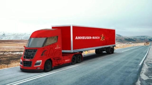 Не Tesla: Nikola поставит до 800 водородных грузовиков пивной компании