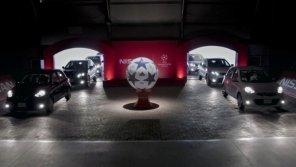 К финалу Лиги чемпионов Nissan ввезет в Украину официальные электромобили. А потом вывезет
