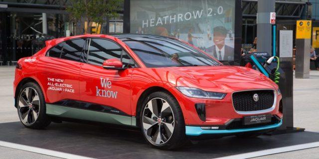 Аэропорт Хитроу заказал себе парк такси из 200 электромобилей Jaguar I-Pace
