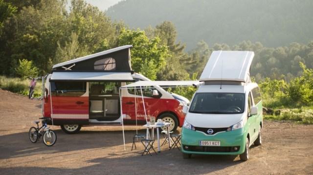 3 комнаты по цене авто: Nissan сделали дом на колесах из электрофургона E-NV200