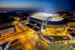 Крупнейший проект в Европе: стадион сборной Нидерландов запитали от электромобильных батарей (фото)