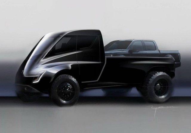 Маск раскрыл подробности пикапа Tesla: два мотора и динамическая подвеска