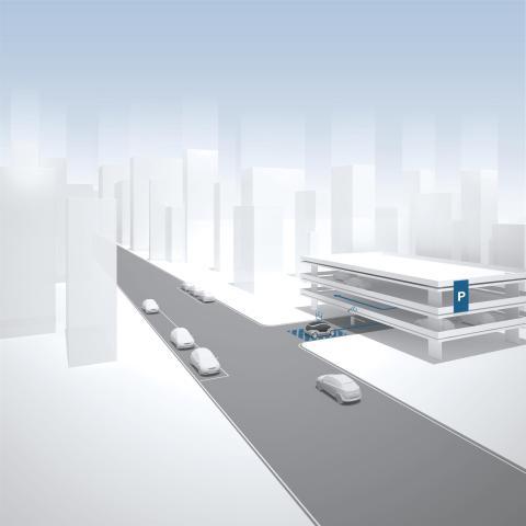 Bosch и e.GO запускают систему автоматической парковки в Германии