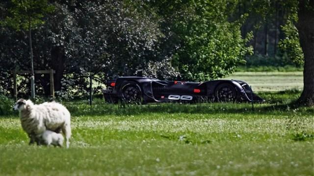 Беспилотник Roborace выйдет на старт Фестиваля скорости в Гудвуде и проедет 2 тысячи км