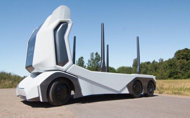 Einride приспособили беспилотные грузовики к езде по бездорожью и перевозке леса
