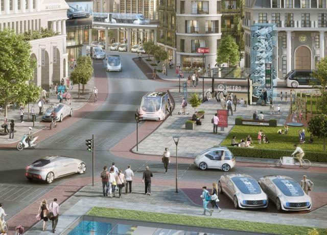 Автономное вождение в городах: Bosch и Daimler получат платформу Drive Pegasus от Nvidia