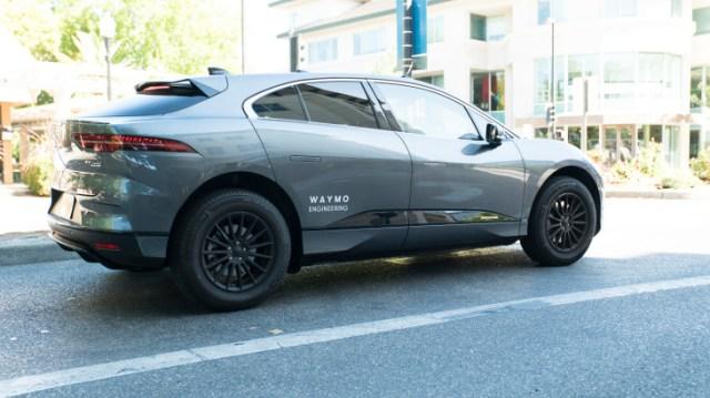 Jaguar I-Pace компании Waymo выехали на дороги общего пользования