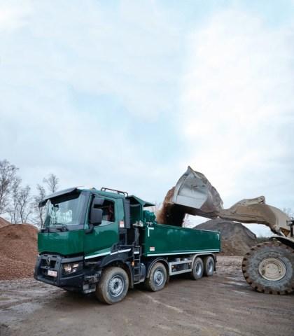 Renault представит две модели электрических грузовиков на выставке IAA-2018