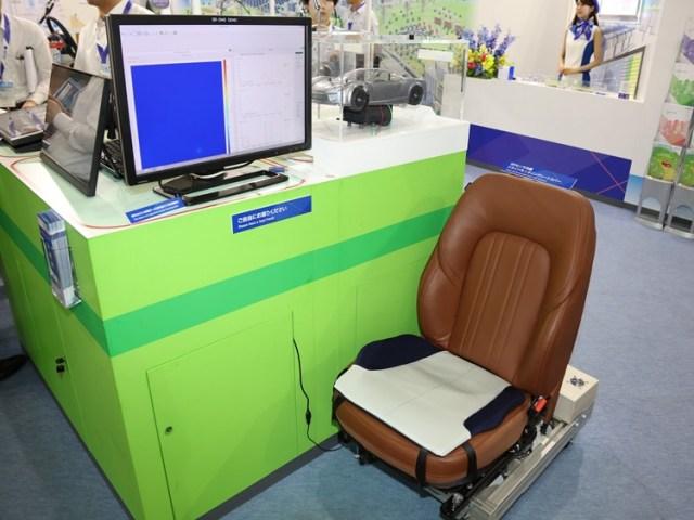 Японцы создали автомобильное кресло, определяющее усталость водителя