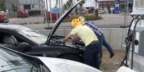 Электрический Porsche Taycan впервые заметили на дорогах в Европе