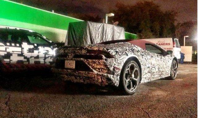 Lamborghini установит дисплей в стиле Telsa в обновленный Huracan