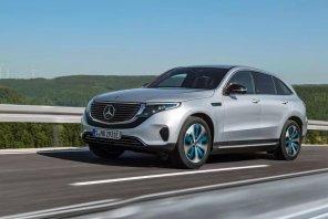 Событие осени: Mercedes представил электрокроссовер EQC во всей красе