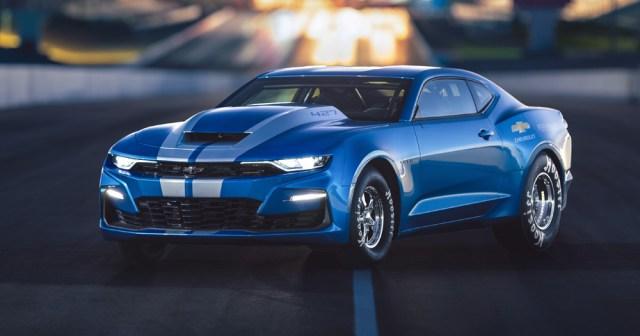 GM показал свой 700-сильный электрический Chevrolet Camaro для дрэг-рейсинга