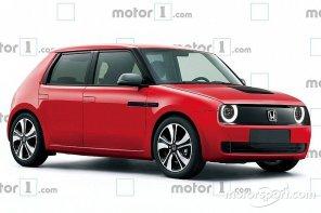 Это будет очень круто: дизайнер показал, как будет выглядеть Honda Urban EV