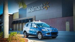 Беспилотники Ford в тестовом режиме начали развозить товары из Walmart