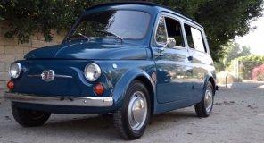 """190 км на одном """"баке"""": американцы прокачали старенький Fiat 500 и превратили его в электромобиль"""