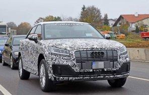 Фотошпионы засекли новый электрокроссовер Audi Q2 во время тестов: опубликованы фото