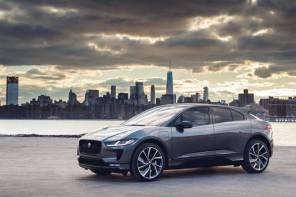 Электрокроссовер Jaguar I-Pace поступил в продажу в Украине: все подробности