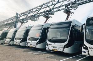 В Финляндии на маршрут выйдут электробусы VDL с особым типом зарядки