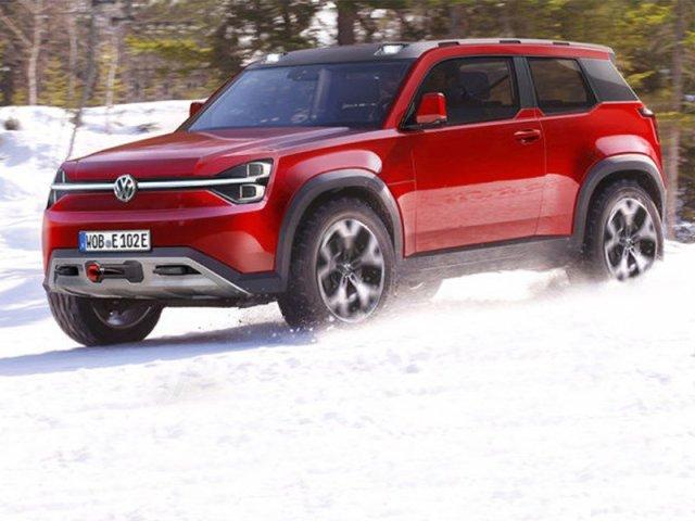 "Конкурент ""Мерсу""-""кубику"": Volkswagen готовит электрический внедорожник T-Rug"