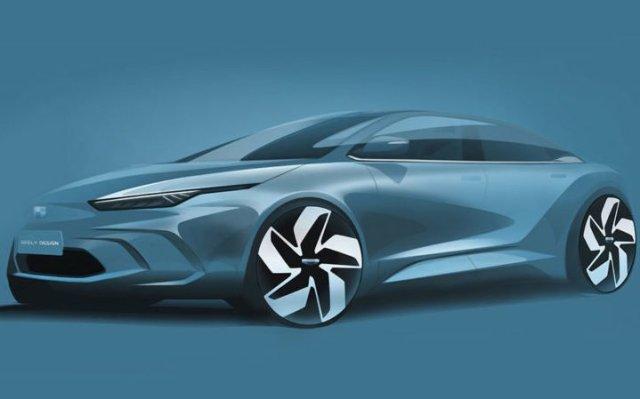 """Очередной """"убийца"""" Tesla: китайцы представили электромобиль Geely GE11 (фото)"""