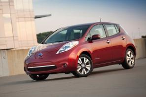 Nissan Leaf остается самым популярным электромобилем в Украине: инфографика