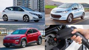 Какой электромобиль лучше: сравнили Nissan Leaf ePlus, Chevy Bolt EV 2019 и Hyundai Kona Electric