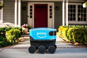 Amazon вывел на улицы мини-холодильники на колесах