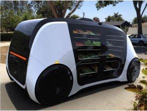 Кличко и не снилось: МАФы на колесах без продавцов развозят товары прямо на дом