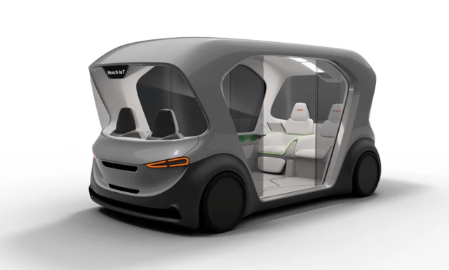 Bosch представили свой супернавороченный беспилотный шаттл