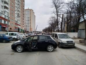 Попытка угона электромобиля в Одессе закончилась неудачей: все подробности