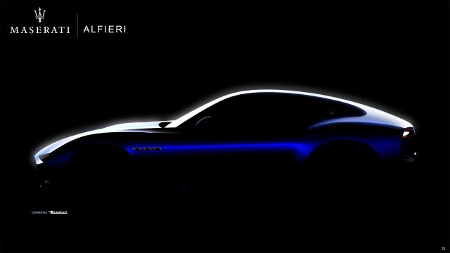 Maserati заменит семейство GranTurismo гибридами и электромобилями Alfieri: фото