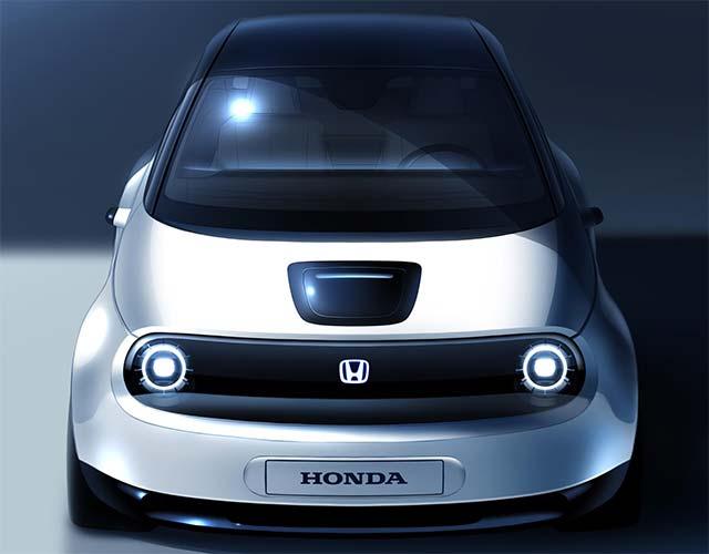Honda показала первое фото интерьера электромобиля Urban EV